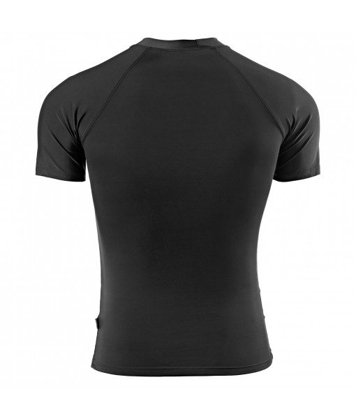 Compression Top Half Sleeve Plain Athletic Fit Multi Sports T-Shirt