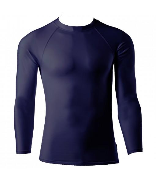Full Sleeve Plain Athletic Fit Multi Sports Inner