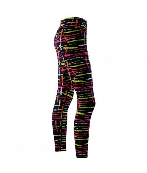 Lycot Women's Lycra Compression Leggings & Stretchable Printed Gym Yoga Pant